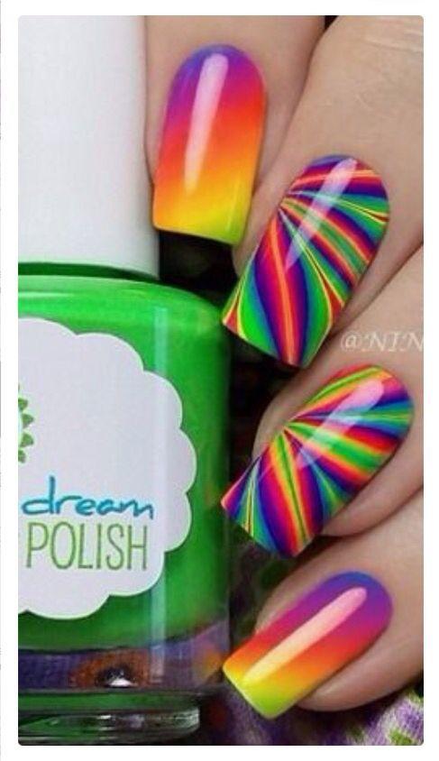 Nail art | Colors | Pinterest | Uñas de halloween, Diseños de uñas y ...