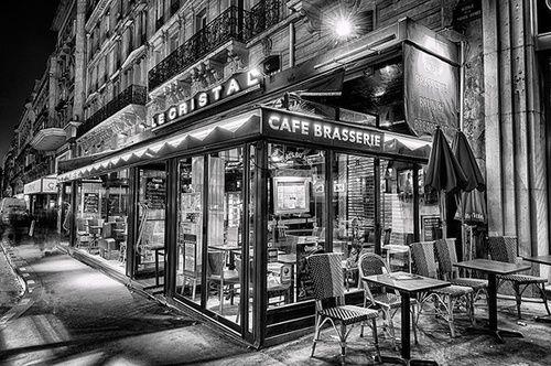Le Crystal Cafe Brasserie , Paris by Deborah Sandidge