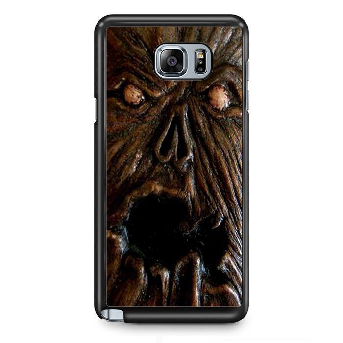 Close Up Monster Face TATUM-2727 Samsung Phonecase Cover Samsung Galaxy Note 2 Note 3 Note 4 Note 5 Note Edge