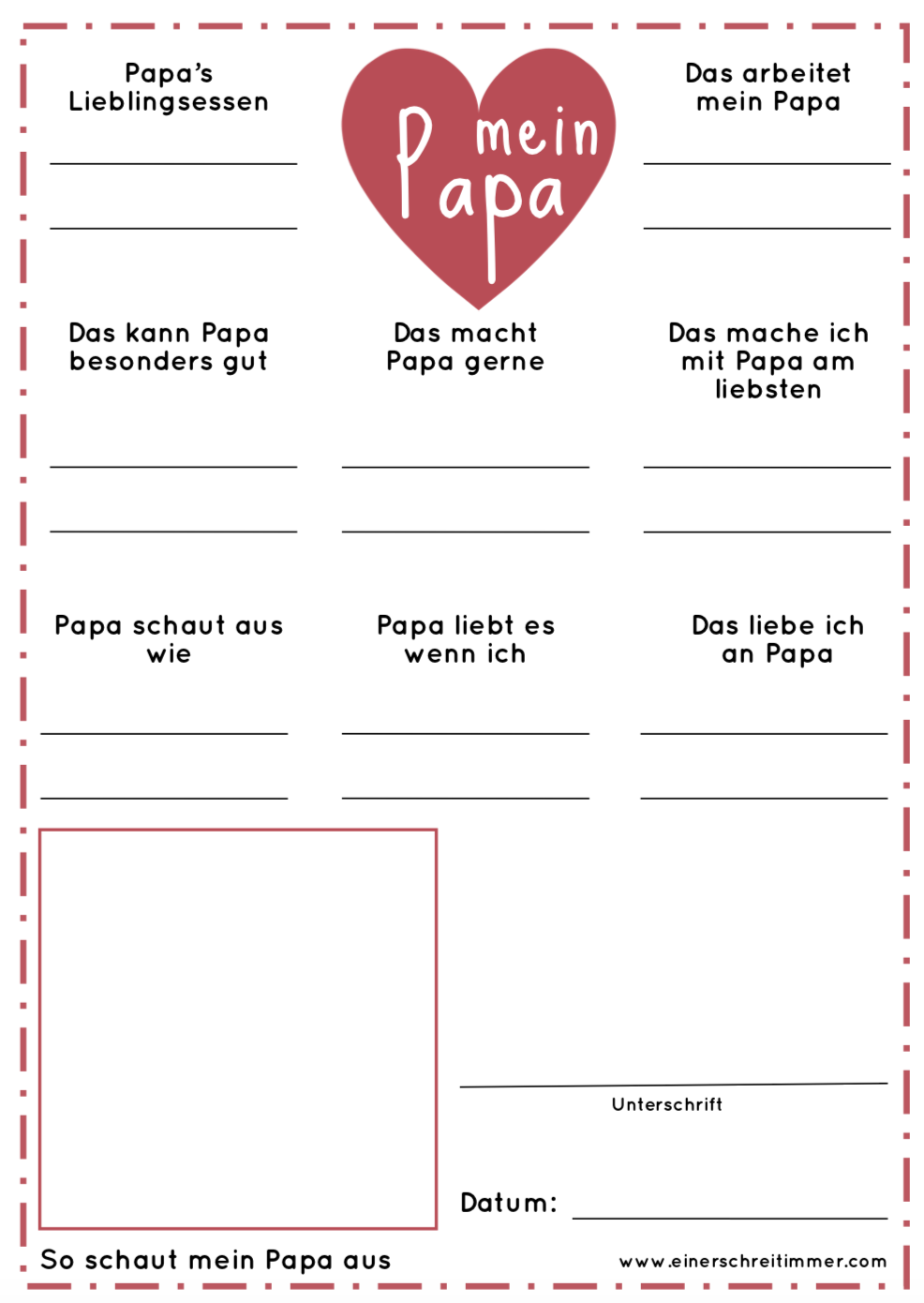 Download Vatertag Fragebogen Fur Papa Helin Fetedesperes En 2020 Fete Des Peres Bricolage Fete Des Meres Bricolage Fete Des Peres