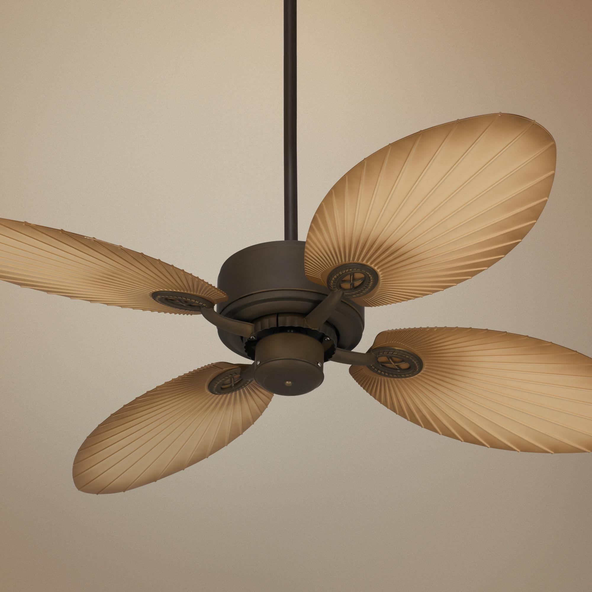 52 Casa Vieja Aerostat Palm Bronze Outdoor Ceiling Fan 11h83 Lamps Plus Ceiling Fan Outdoor Ceiling Fans Ceiling Fans Without Lights