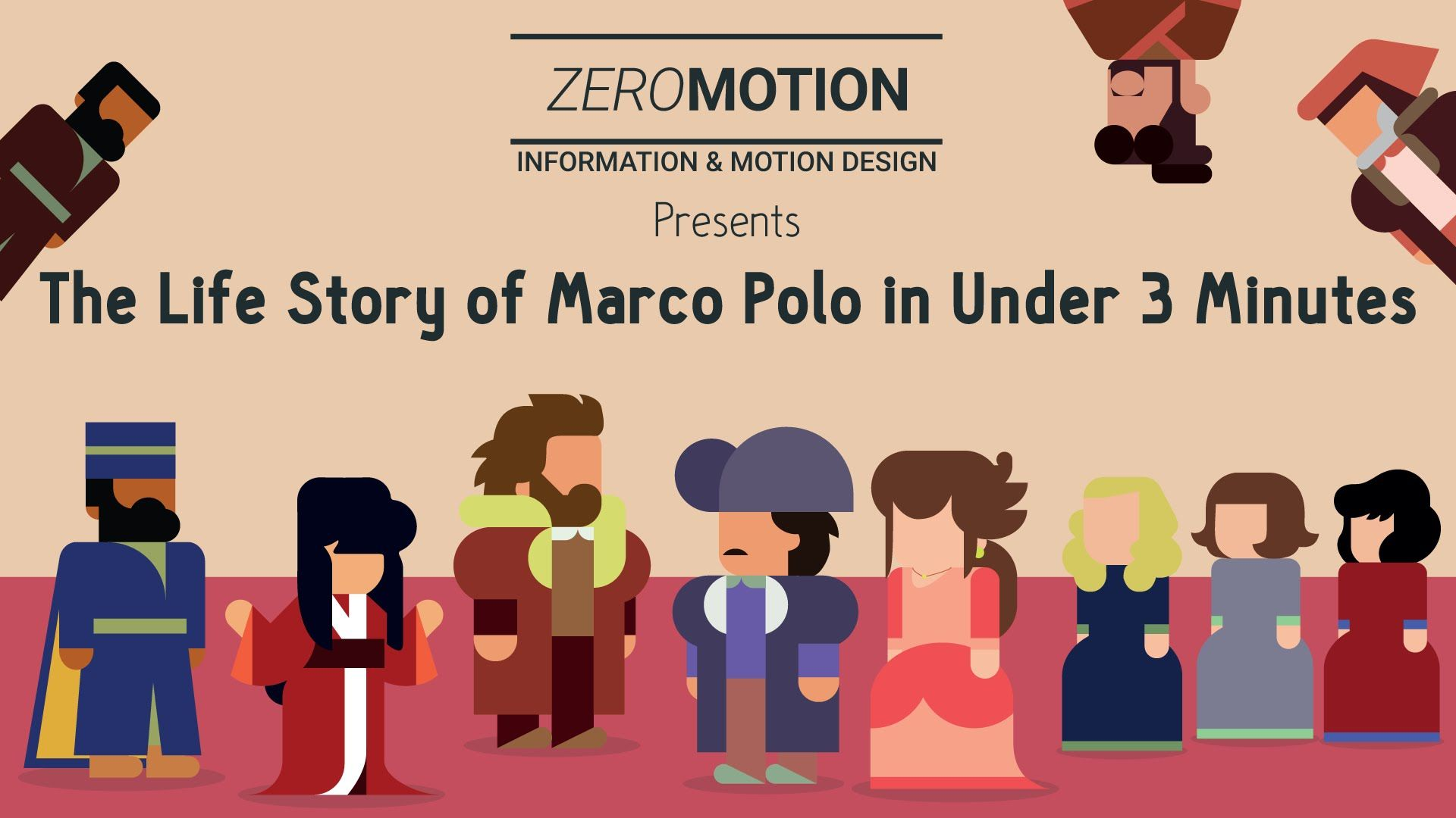 The Life Story Of Marco Polo In Under Three Minutes