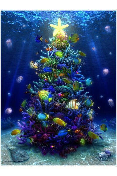 Under The Sea Christmas I Imagine This Is How Ariel The