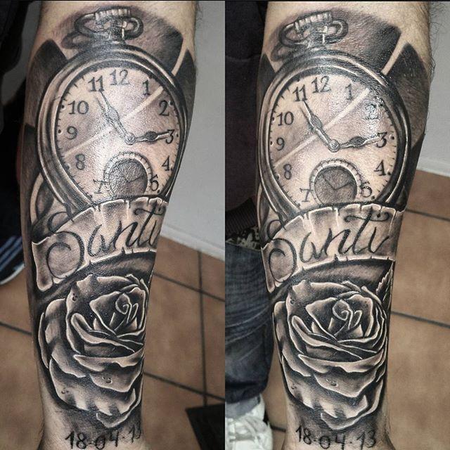 Tatuajes De Rosas Para Hombres Tatuaje De Rosa En El Antebrazo Tatuajes De Rosas Tatuajes De Rosas Para Hombres