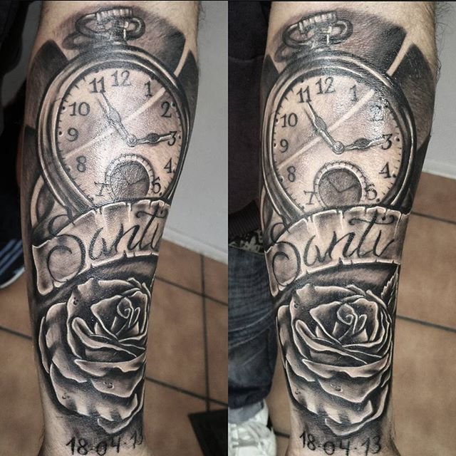Tatuajes De Rosas En El Antebrazo