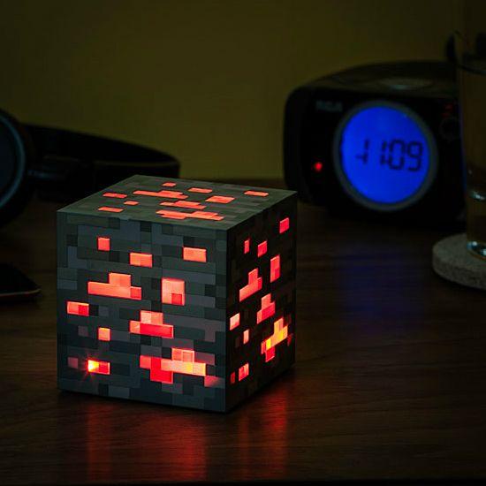 Craft · Minecraft Redstone Lamp!