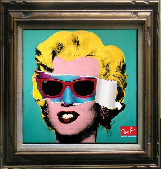 Ray Art Ban Warholamp; Pop Marilyn D'andy ArtWharol Design LzMUqVSGp