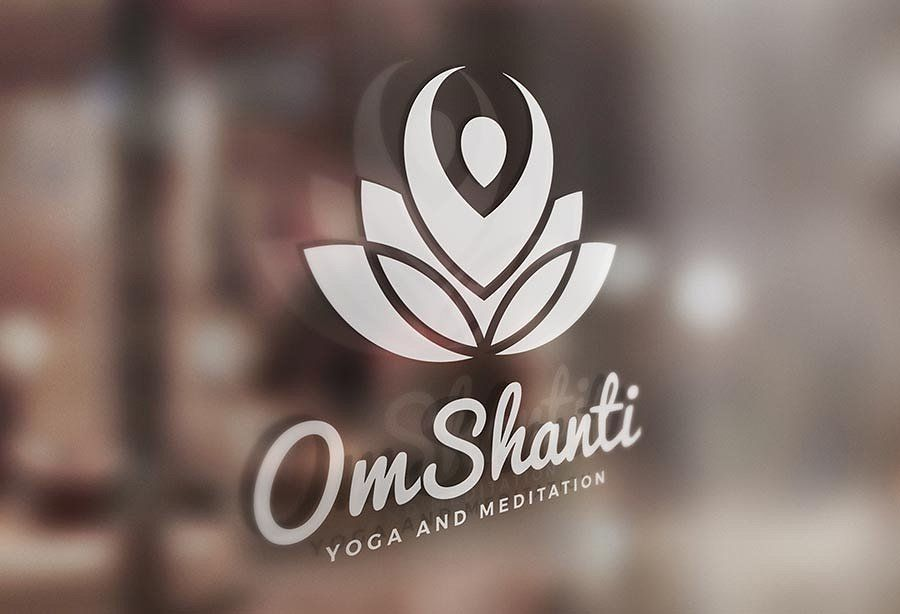 Om Shanti Yoga And Meditation Logo Om Shanti Om Shanti Meditation