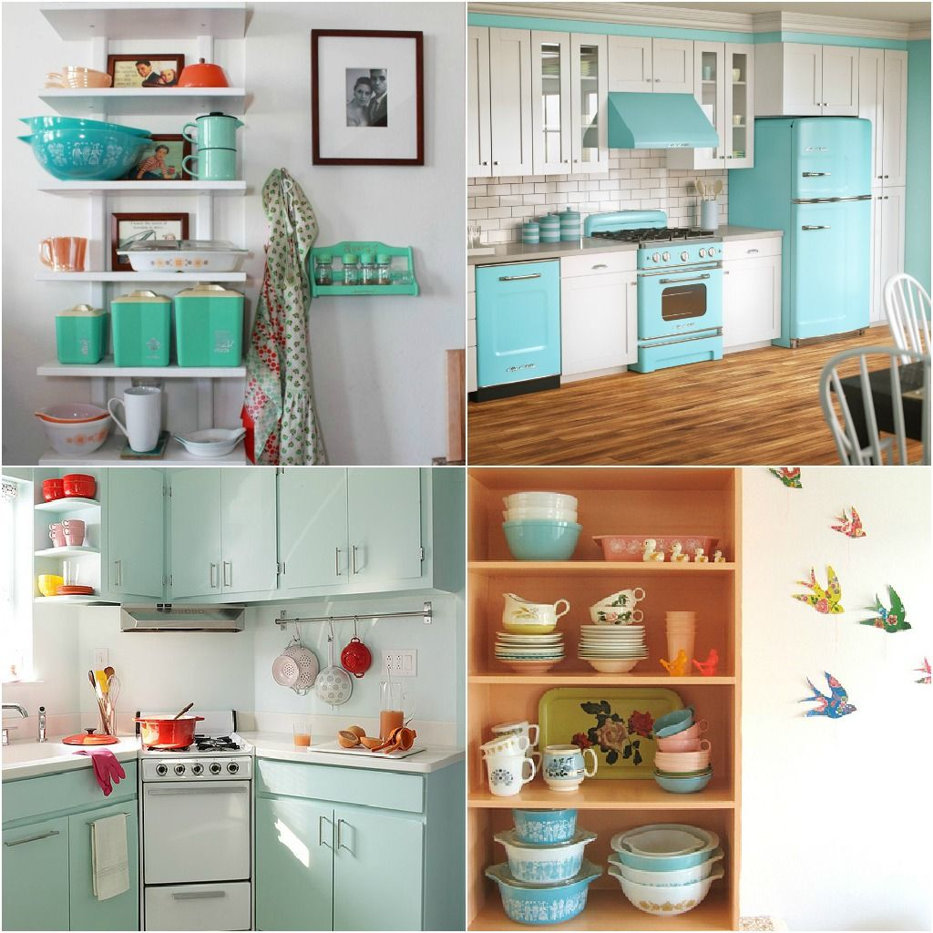 Dans Le Townhouse Pyrex Art For A Retro Kitchen