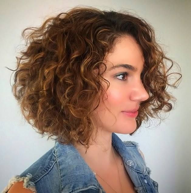 coupe cheveux carre boucle