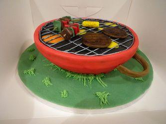 Barbecue Cake . . .