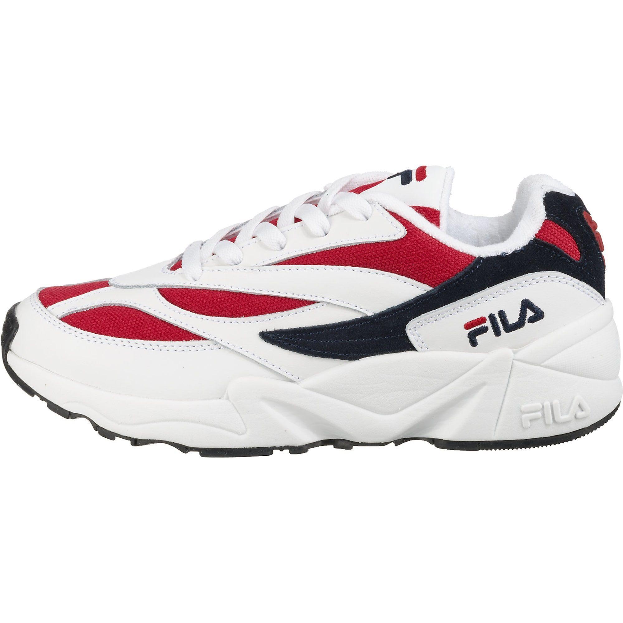 FILA Sneakers Low 'Venom' Damen, Rot Schwarz Weiß, Größe