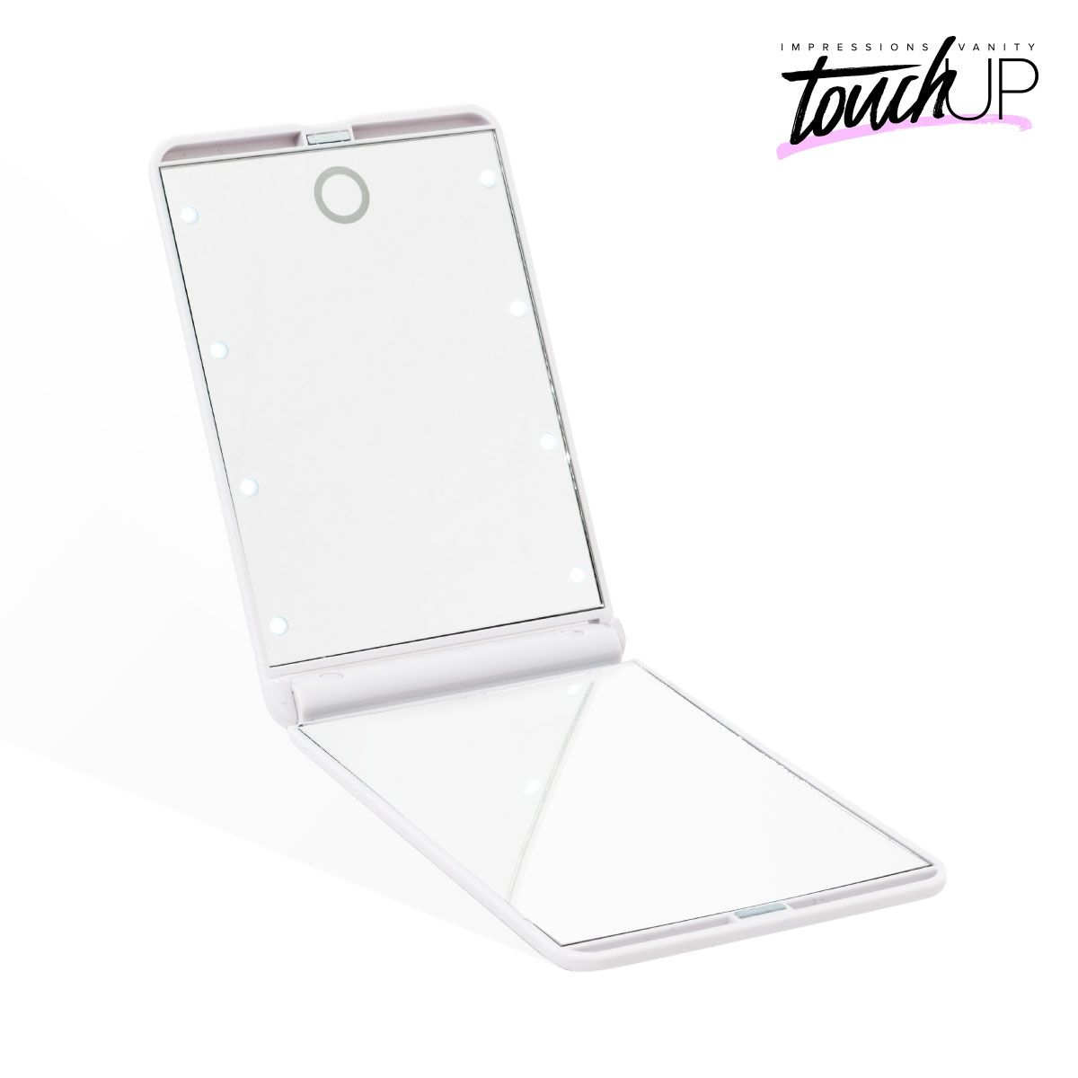 Illuminated Top Mirror With 8 Bright White Leds For