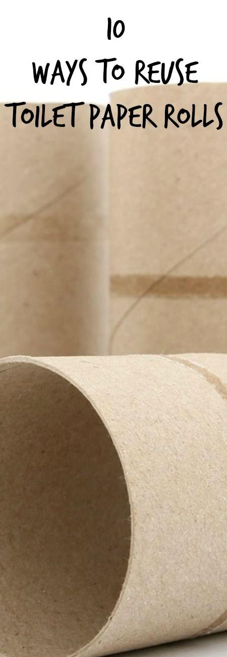 10 Ways To Reuse Toilet Paper Rolls | Toilet paper rolls, Toilet ...