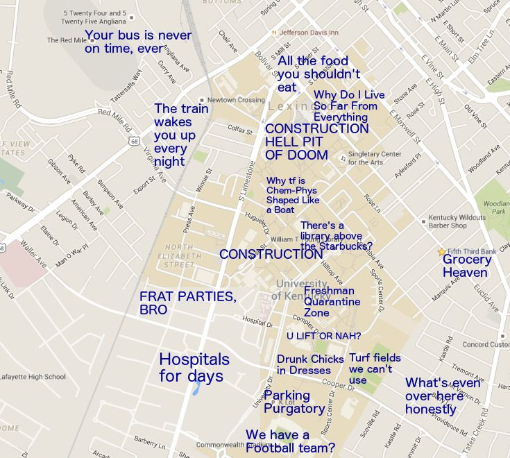 Pin by The Black Sheep on Judgmental Maps of College ...