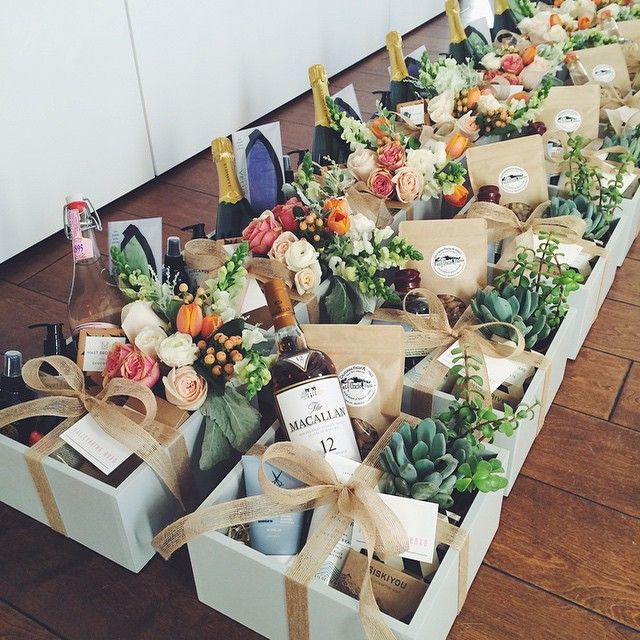 Unique Wedding Gift Basket Ideas: Barrett Prendergast @valleybrinkroad Instagram Photos