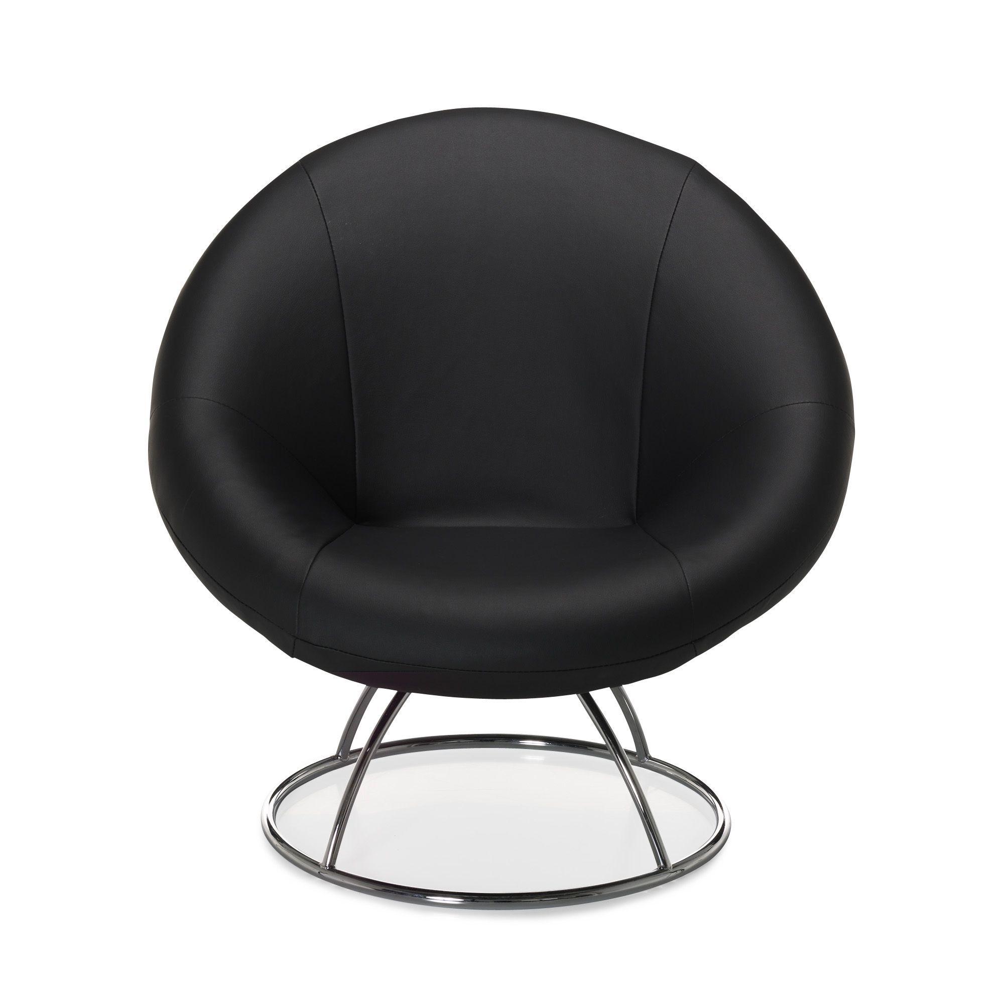 Fauteuil Noir Forme Design Noir Elipse Les Fauteuils Fauteuils Et Poufs Canapes Et Faut Mobilier De Salon Fauteuil Noir Decoration Interieure