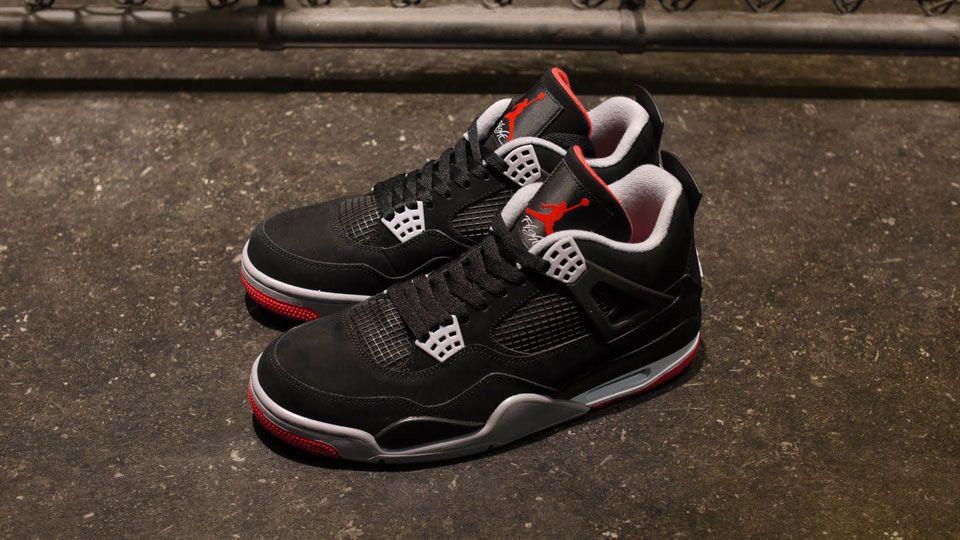 Jordan 4 Black Red