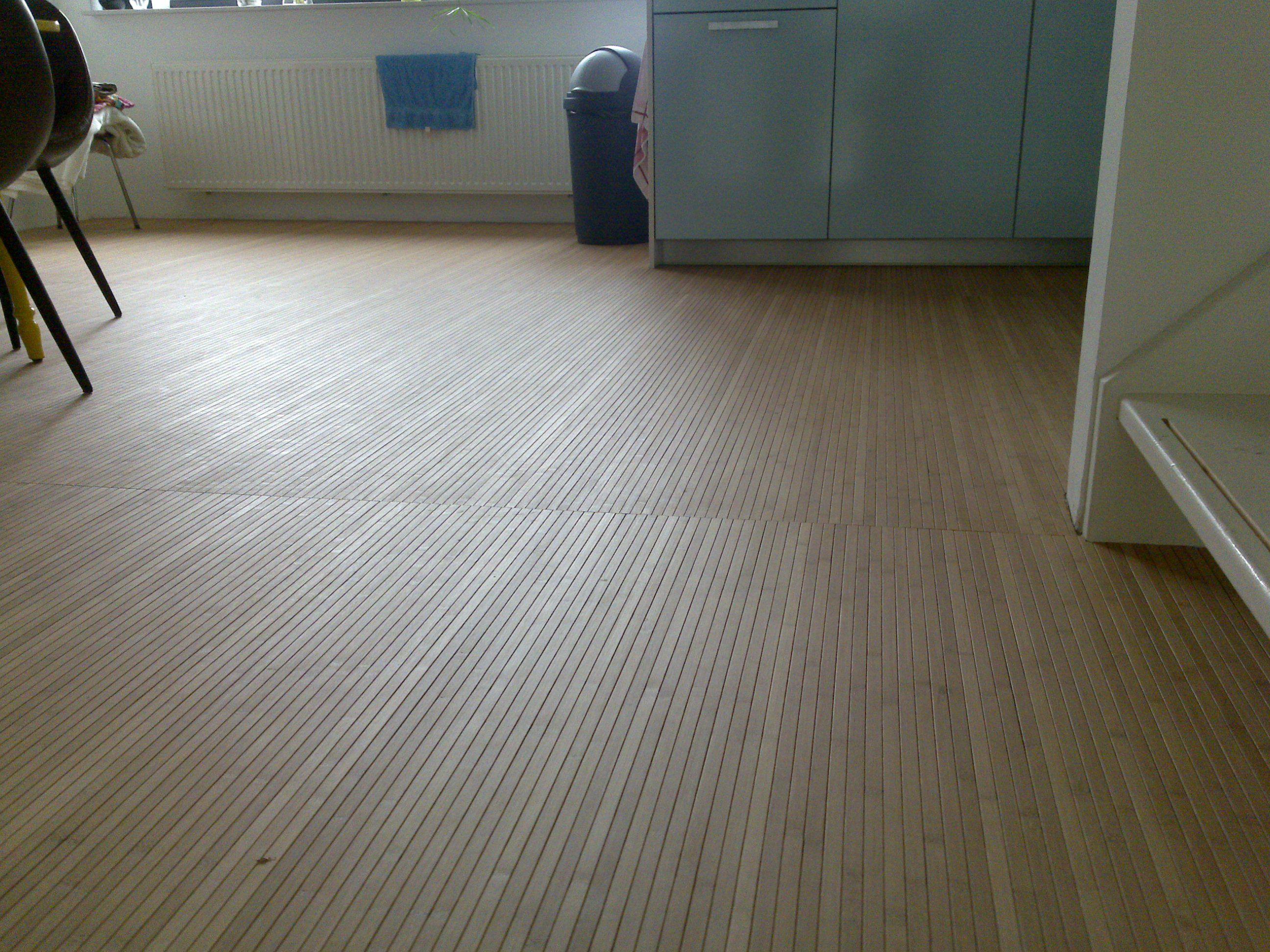 bamboevloer van de rol vloer pinterest bamboe vloeren en