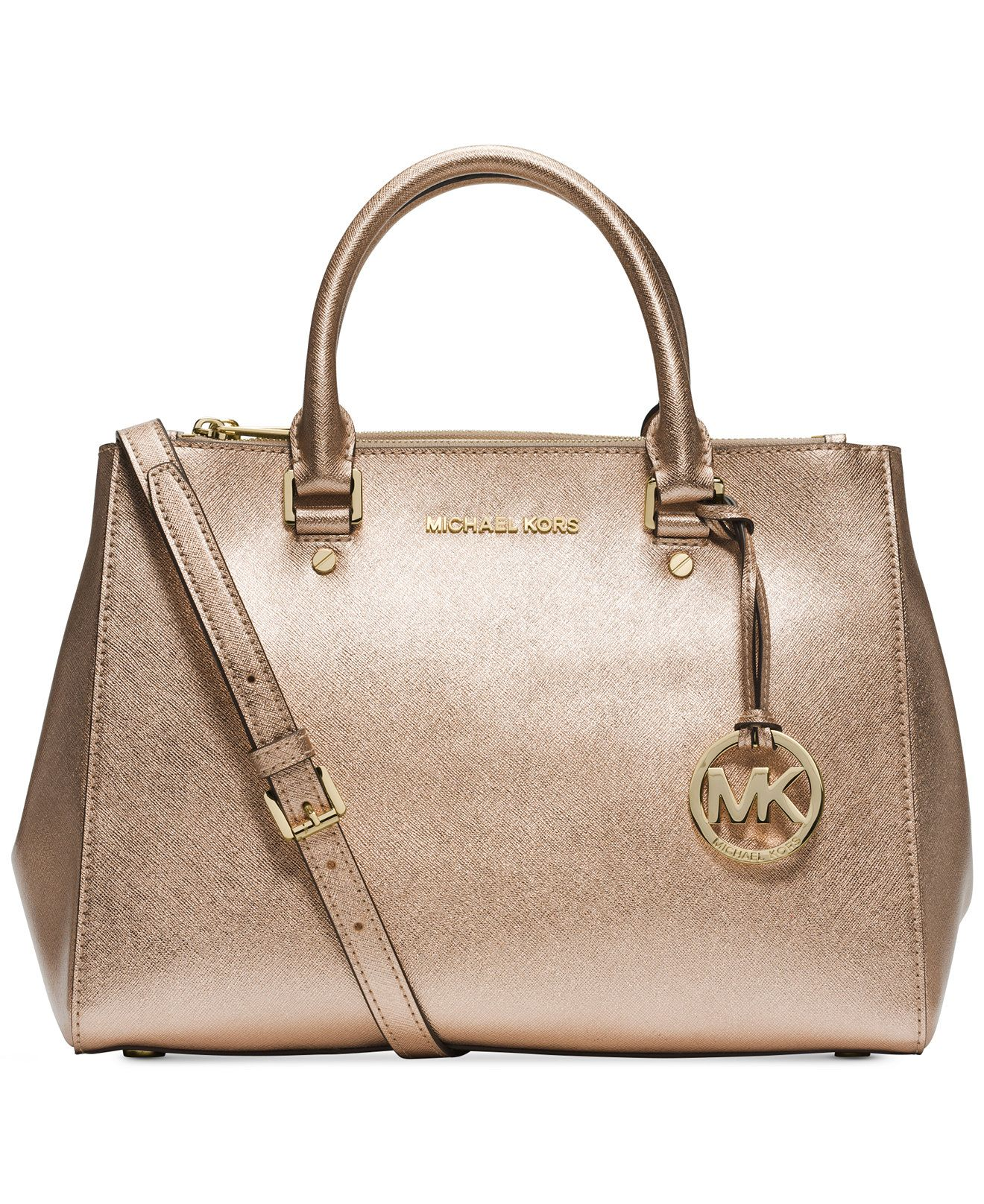 MICHAEL Michael Kors Sutton Medium Satchel - Handbags \u0026 Accessories - Macy\u0027s