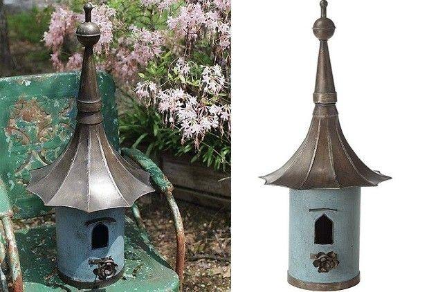 Victorian Birdhouse | Metal Birdhouse