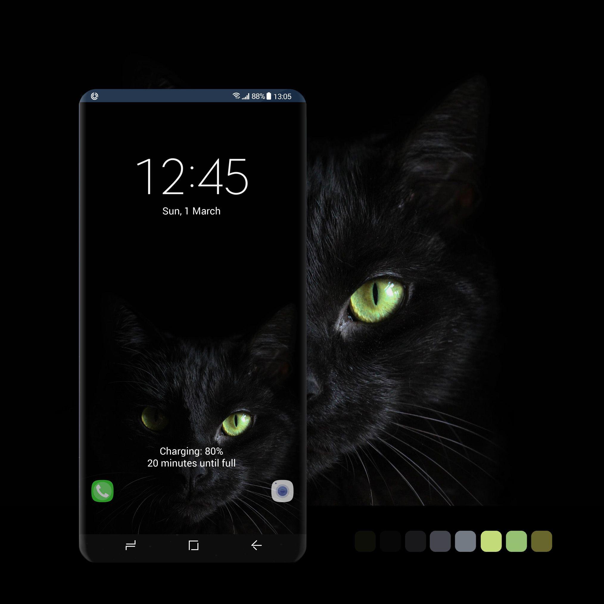 Pin By Kiki On Themes Samsung Galaxy Wallpaper Galaxy Cat Wallpaper