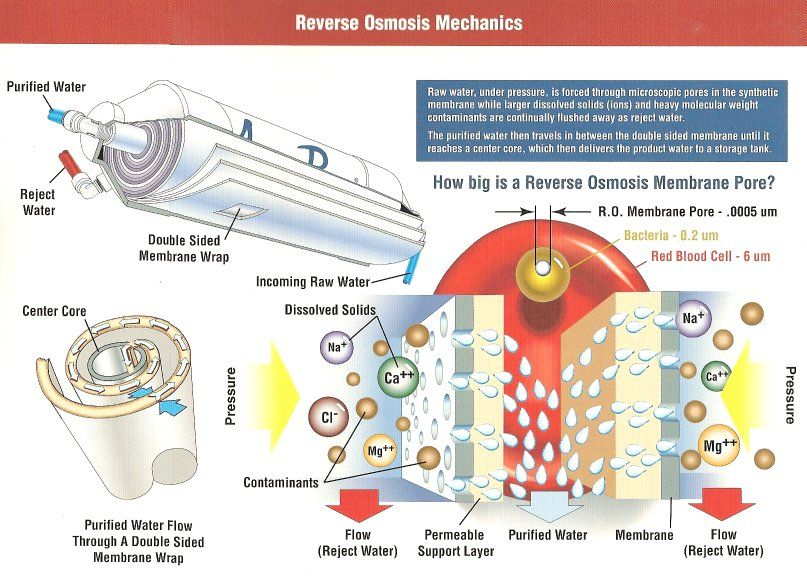 Ro Removes The Bulk Of Ions Bacteria Particles And
