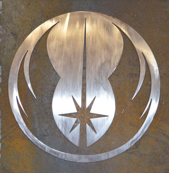Star Wars Jedi Order Metal Wall Art Etsy Metal Wall Art Star Wars Jedi Metal Walls