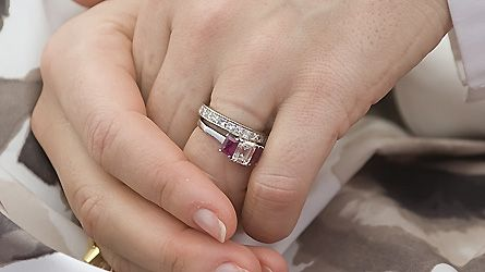 Mary S Engagement And Wedding Rings Royal Prince Frederik Of Denmark