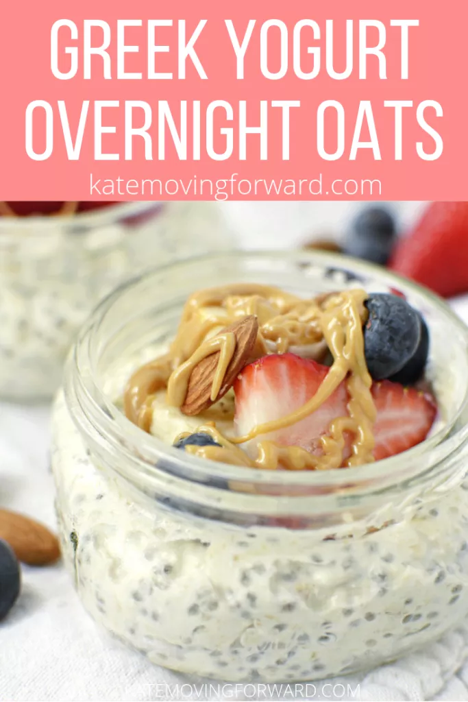 Overnight Oats with Greek Yogurt -   14 healthy recipes Protein greek yogurt ideas