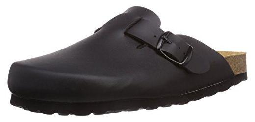 Lico BIOLINE CLOG, Unisex-Erwachsene Pantoffeln, Schwarz (SCHWARZ), 43 EU (9 Erwachsene UK)
