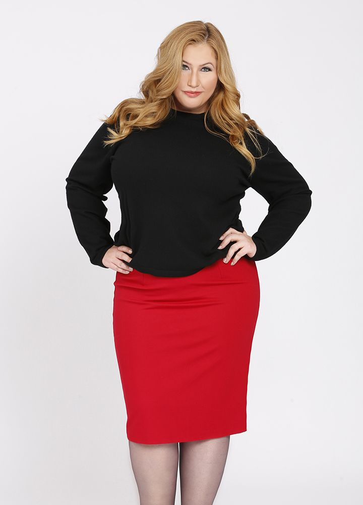 Pencil skirt in Smoothing Ponte Knit