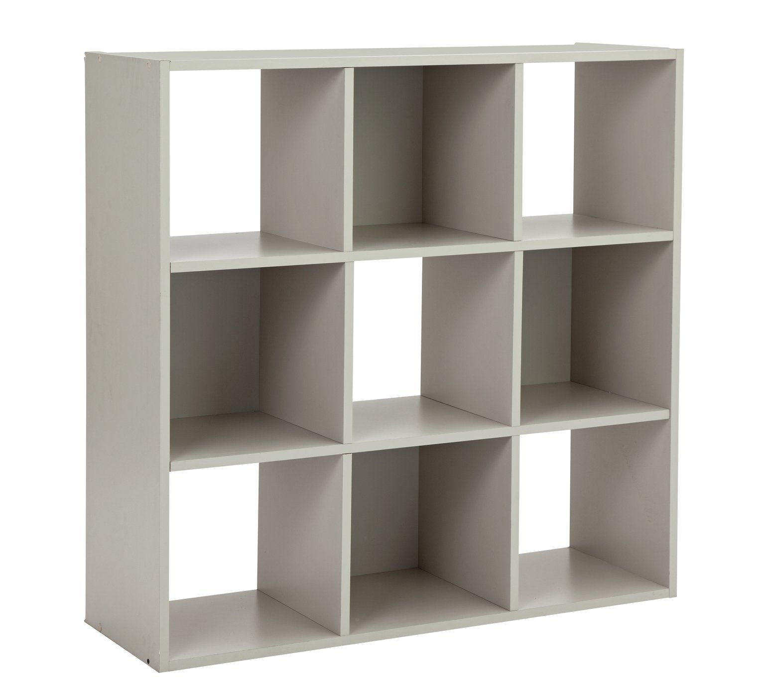 Buy Argos Home Squares 3 Cube Storage Unit - Grey  Bookcases and