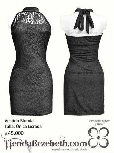 58627385d vestido blonda manga corta cuello tortuga licrado elegante 15 anos quince  bogota medellin cali yopal barranquilla almacen tienda online