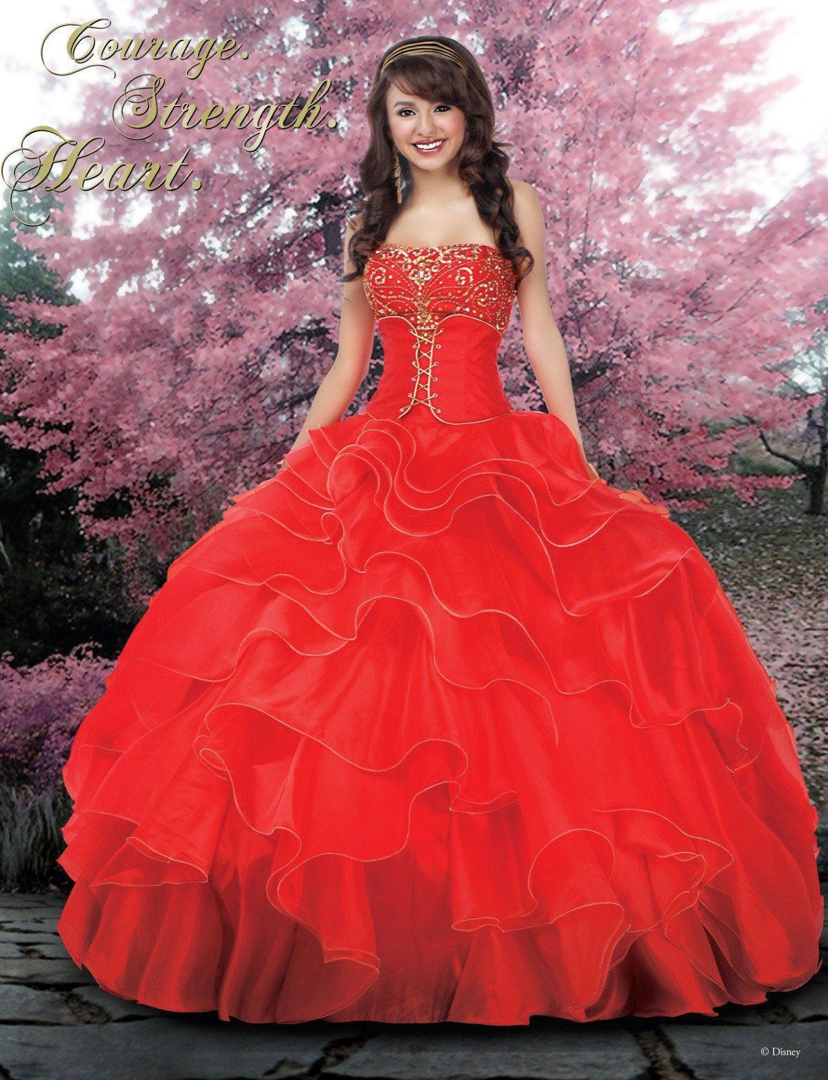 e87f906ff0 Disney Royal Ball Quinceanera Dress Mulan Style 41005