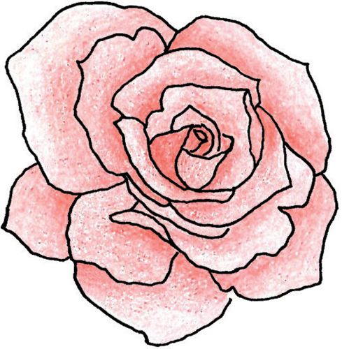 Tattoo Outline Tatoo Art Rose Simple Drawings