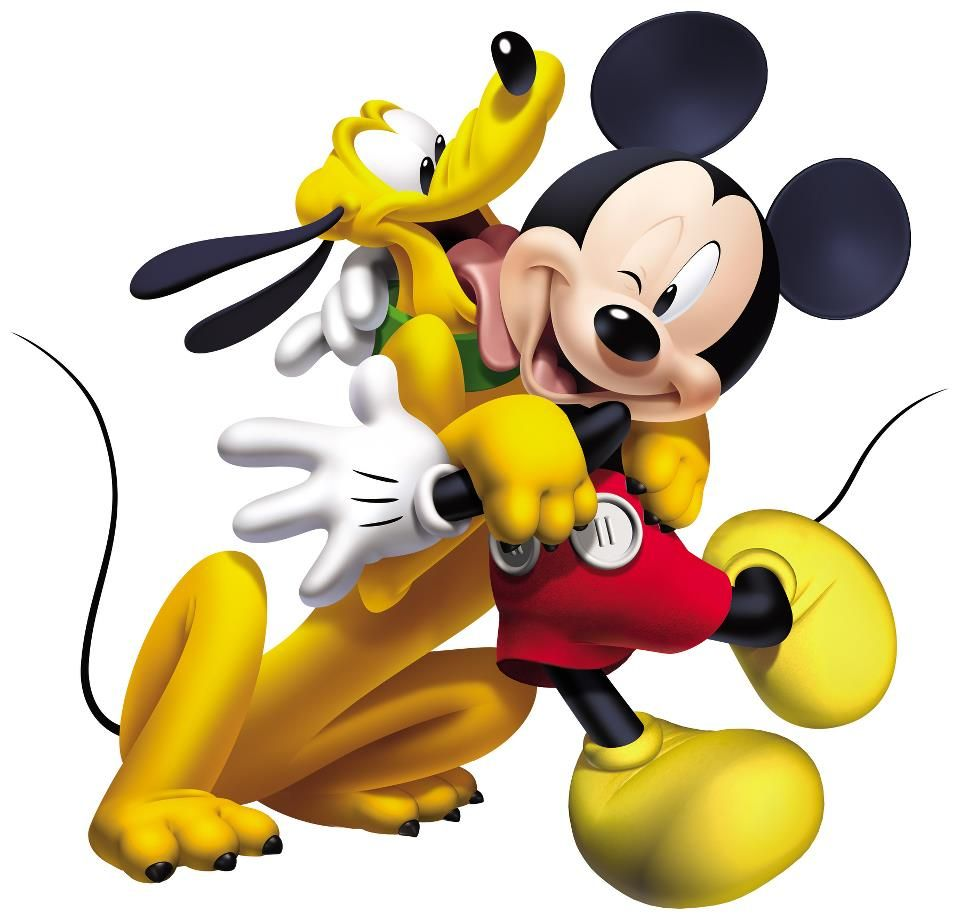 Pluto Mickey Mickey Mouse Pluto Walt Disney It All Started With A Dream