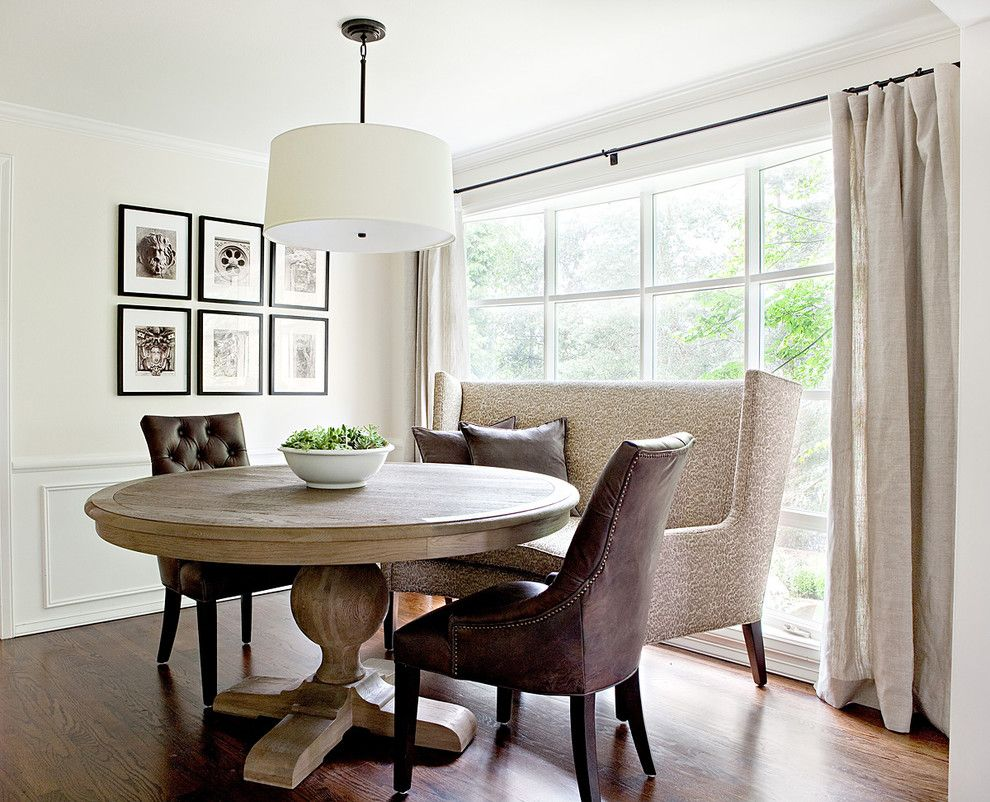 Modern traditional dining room ideas - Dazzling Expandable Round Dining Table Mode Seattle Traditional Round Dining Room Table Decor Ideas
