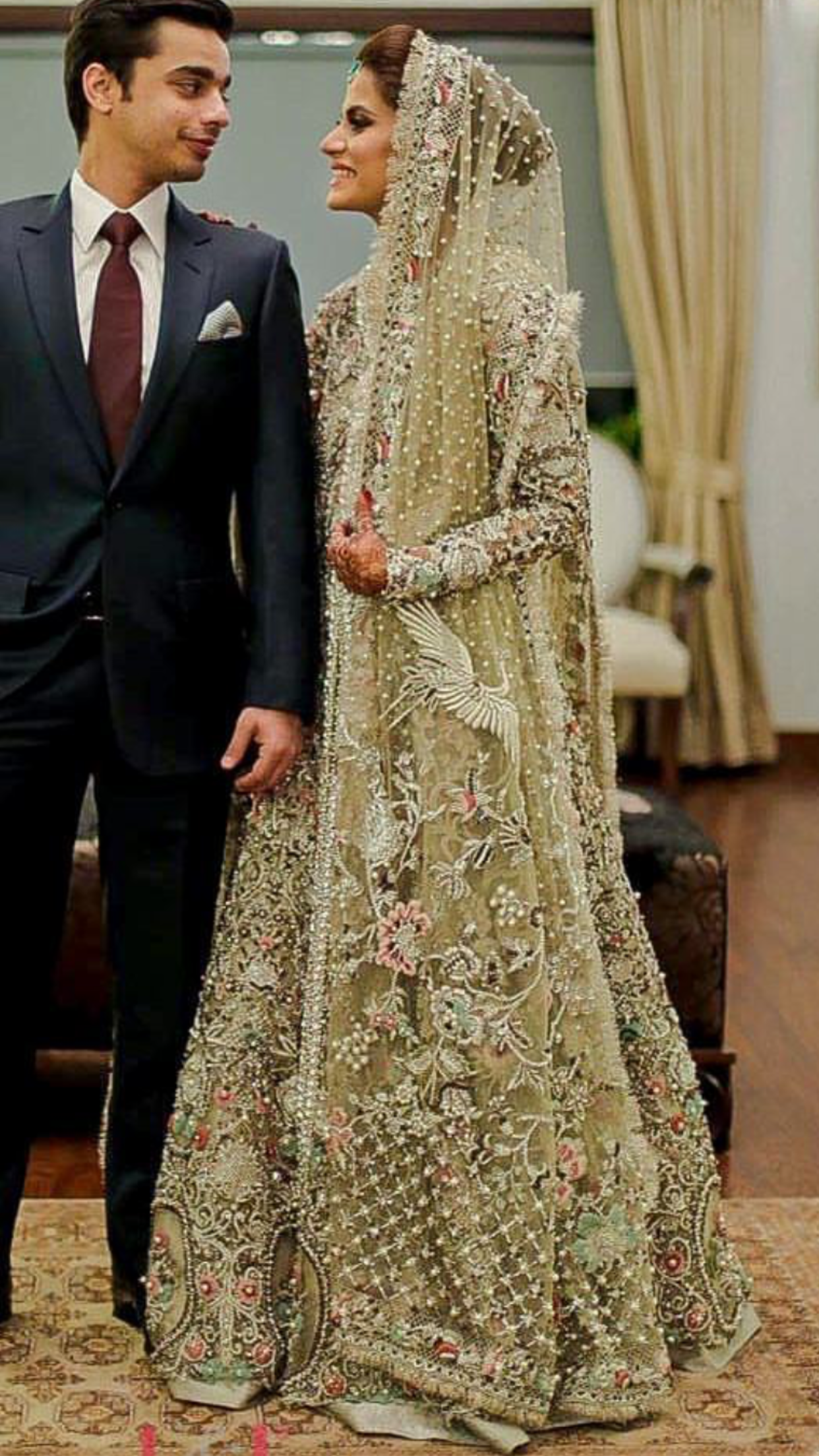 Pakistani bride | Pakistani couture | Pinterest ...