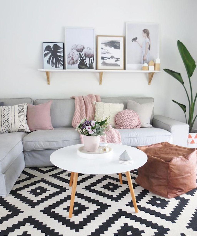Znalezione obrazy dla zapytania scandinavian livingroom