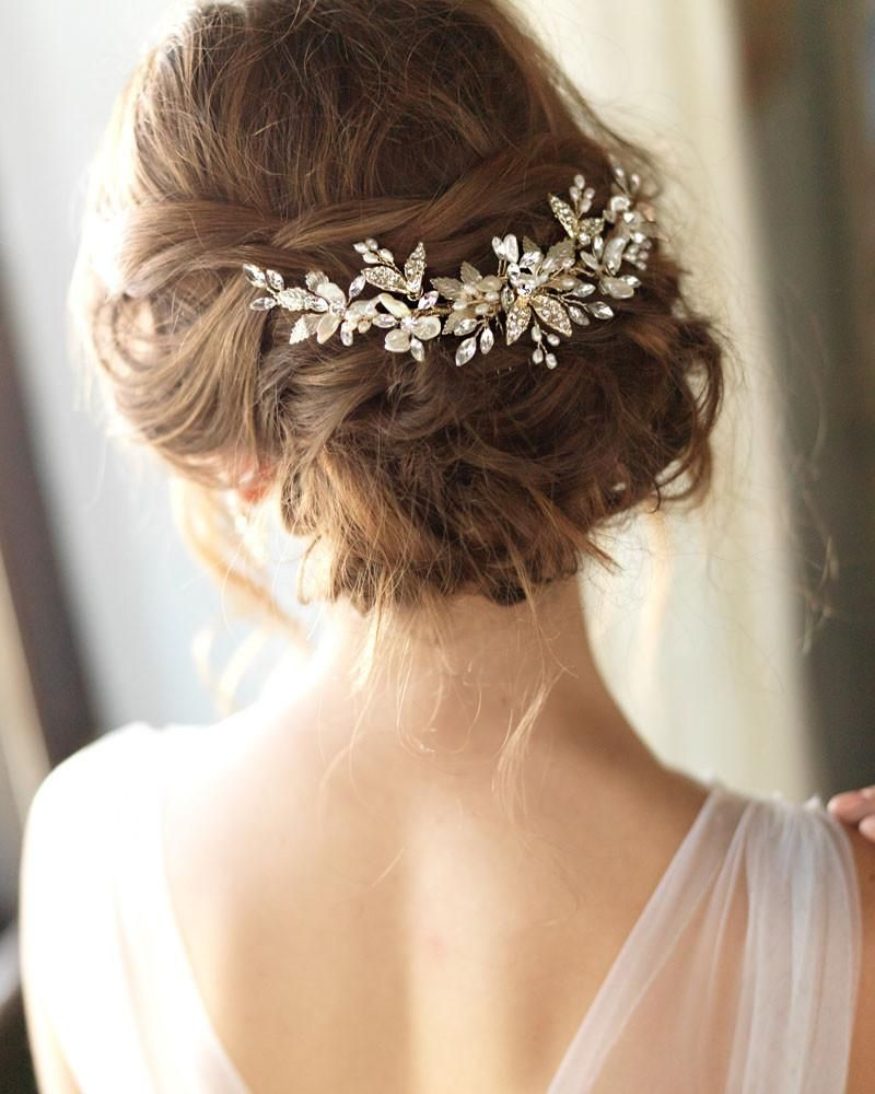 aviana wedding back comb in 2019 | hair | hair comb wedding