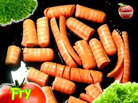 Easy Fast Recipe of Beautiful and Funny Dish - Figured Sausages - YouTube