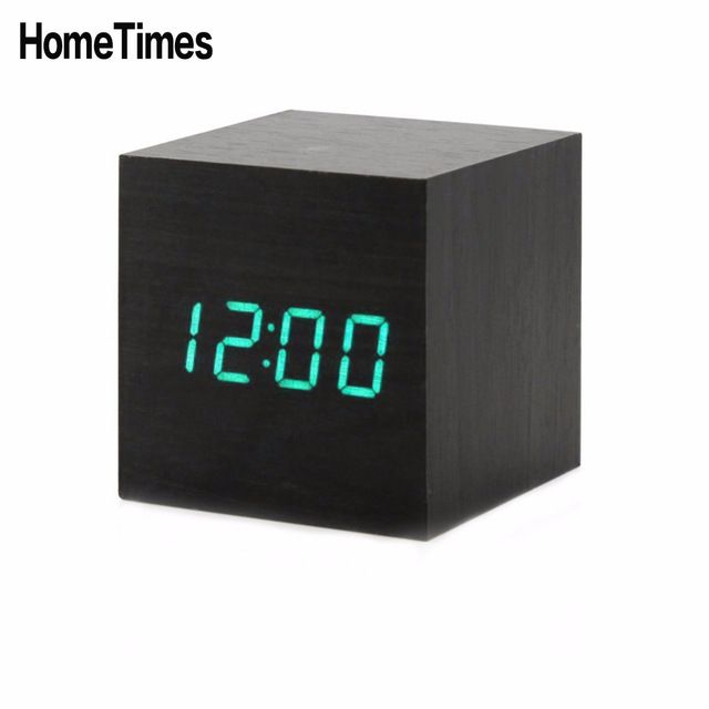 Check it on our site New LED Wooden Alarm Clock Sound Control Digital Desktop Despertador Thermometer Calendar Temperature Home Smart Table Clock -50 just only $13.24 - 14.22 with free shipping worldwide  #clocks Plese click on picture to see our special price for you