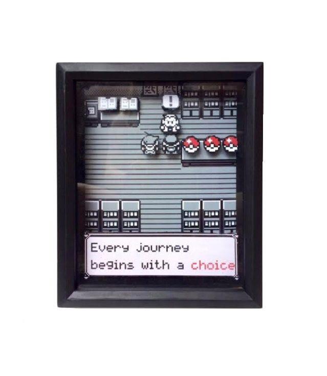 Pokemon Shadow Box Variant