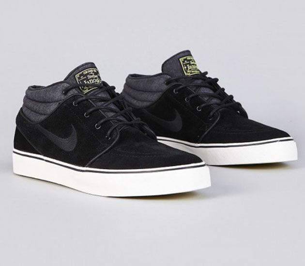2dcbee441c80b Nike SB Stefan Janoski Mid - Black / Electric Yellow
