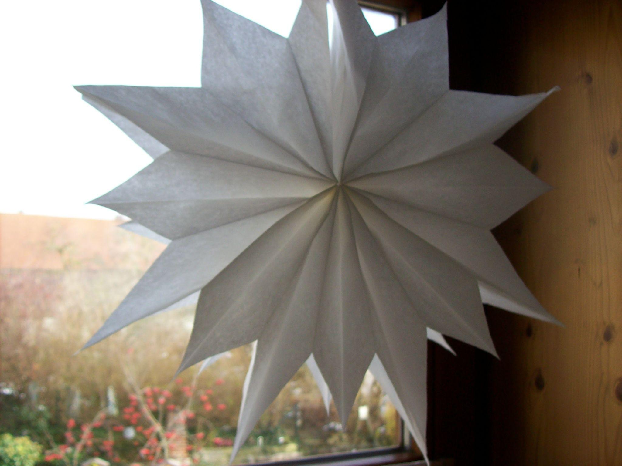 stern aus butterbrott ten weihnachten xmas paper und diy. Black Bedroom Furniture Sets. Home Design Ideas