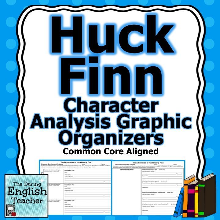 huck finn character analysis Huckleberry finn: main character of the book he is an illegitimate child who runs away from his adopted family to be free of society and civilization huck is tom sawyer's sidekick, and tom is huck's best friend throughout the book, huck journeys down the mississippi river with jim, miss watson's.