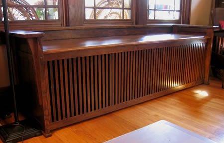 Prairie Woodworking Arts Amp Crafts Style Radiator