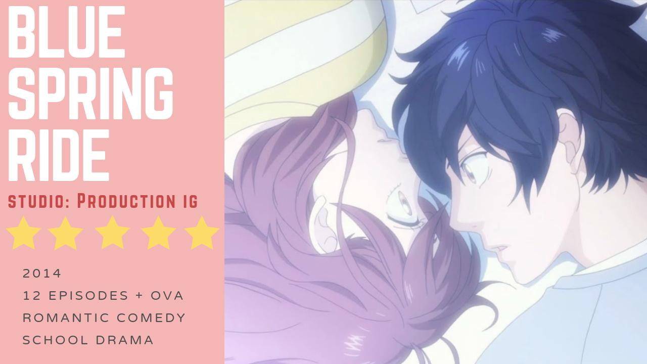 Anime Review Blue Spring Ride (2014) Anime reviews