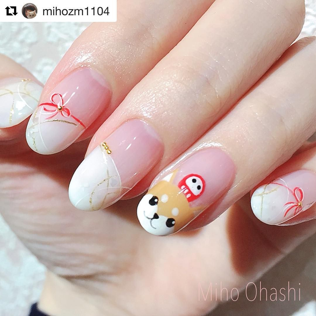 Zero The Dog Nail Designs: Pin By Catherine Tran On Nails- Cute